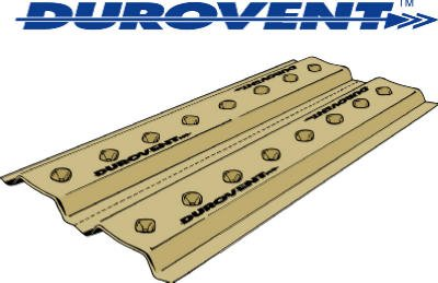 ADO Products UDV2248 Durovent Foam Attic Rafter Vent (Pack of 70)