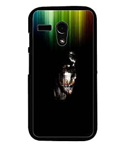 PrintDhaba Abstract Image D-3762 Back Case Cover for MOTOROLA MOTO G (Multi-Coloured)