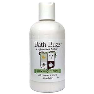 Bath Buzz Caffeinated Lotion - Rosemary Mint - 8oz