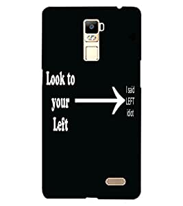 ColourCraft Funny Quote Design Back Case Cover for OPPO R7