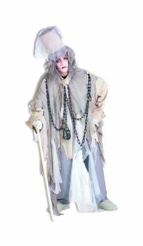 Forum Novelties Men's Jacob Marley The Original Christmas Spirit Costume, Multi, Standard