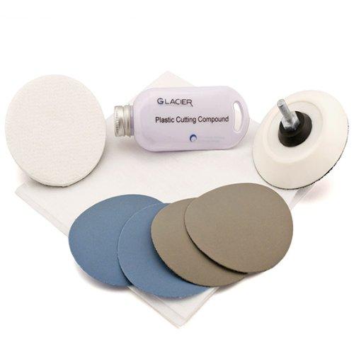 Flexipads Plastic Scratch Repair & Polishing Kit