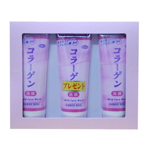 旅美人 コラーゲン配合洗顔クリーム2本セット