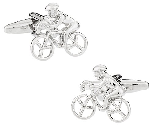 Racing Bicycle Cufflinks