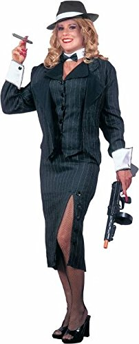 20s Female Gangster Adult Halloween Costume Size Standard
