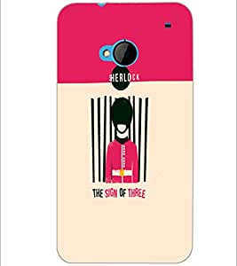 PrintDhaba Quote D-4209 Back Case Cover for HTC ONE M7 (Multi-Coloured)