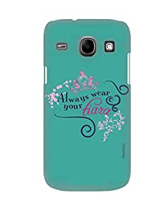 Pick pattern Back Cover for Samsung Galaxy Core I8260