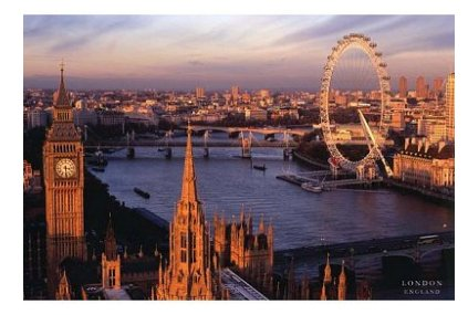 Bestweeks Cool Custom London England Skyline 50*75 Cm Cm Stylish Classical Photo Poster For Wall Sticker Wall Sticker