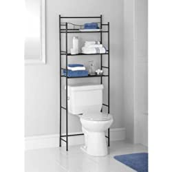 Mainstays 3-Shelf Bathroom Space Saver, Oil Rubbed Bronze