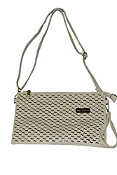 Maimona Handbags Cream Color sling bag Trendy and Stylish