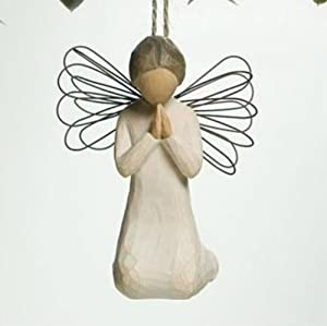 #!Cheap Willow Tree Angel of Prayer Ornament, 26044