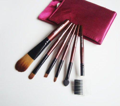 Mini Six Brush Makeup Set - Fuchsia Pink, Graduation gift idea