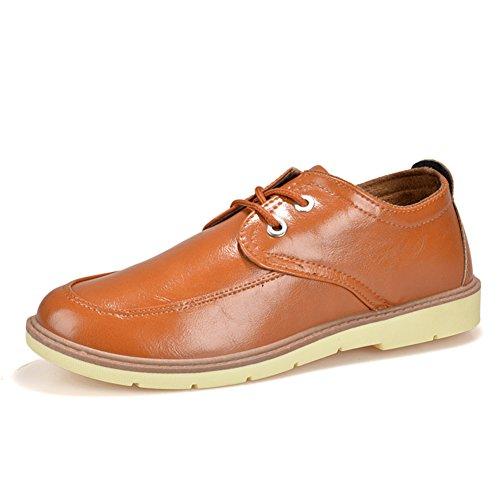 Semplice moda in scarpe casual business di inizio estate/Selvatici Inghilterra scarpe/Bassa marea-scarpe uomo-marrone Lunghezza piede=26.8CM(10.6Inch)