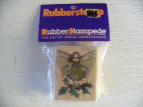 Enchanted Holly 111-e Rubber Stamp