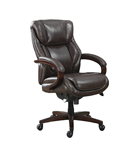 la-z-boy-45783-bellamy-executive-bonded-leather-office-chair-coffee-brown