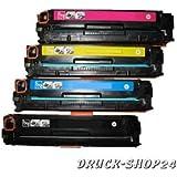 Premium Toner Set (wie CE410X CE411A CE412A CE413A)