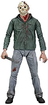 Vendredi 13 - Figurine Damaged de Jason Voorhees (serie 3 - 18cm)
