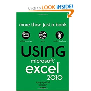 Que:  Using Microsoft Excel 2010