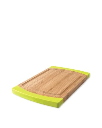BergHOFF Rounded Bamboo and Silicone Chopping Board