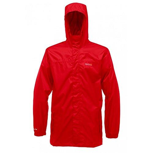 Regatta Men's Rain Jacket, red, 3XL