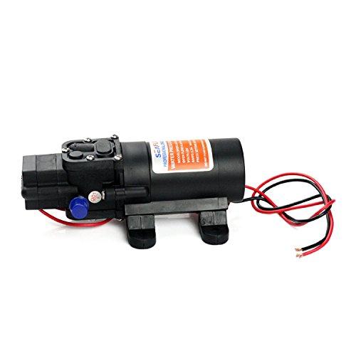 MarineNow's 12V SEAFLO Water Pressure Diaphragm Pump 4.3 L/min 1.2 GPM 35 PSI - Caravan/rv/boat/marine