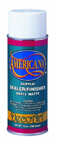 Deco Art 12-Ounce Americana Acrylic Sealer/Finish Aerosol Spray, Matte