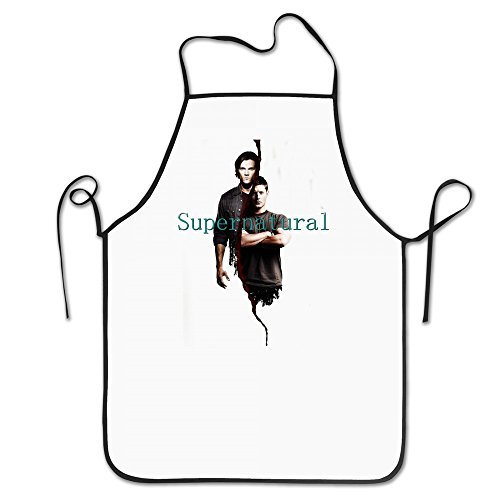 Unisex Funny Sayings Supernatural Dean Sam Winchester 100% Polyester Character Apron One Size (Sam And Dean Winchester Jacket compare prices)