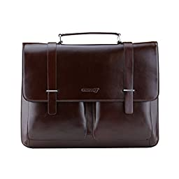 LB1 High Performance New Leather Laptop Bag for Apple iBook Laptop 14.1\