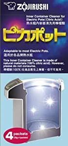 Zojirushi #CD-K03EJU Inner Container Cleaner for Electric Pots, 4 Packets... from Zojirushi