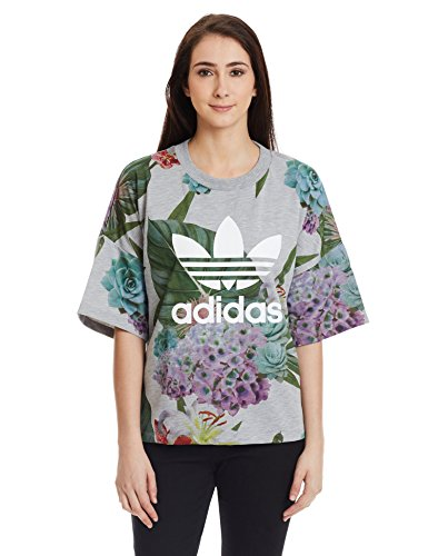 Adidas Train Box Tee T-Shirt Donna, Multicolore, 40