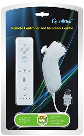Remote and Nunchuck Controller for Nintendo Wii