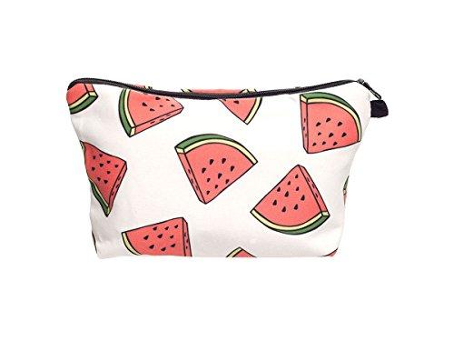 Beauty Case, borsa da viaggio, borsetta da toilette sacco sacchetto bagno per cosmetici trucco make up motivi diversi, Kosmetiktasche KT-002-050:KT-039 melone