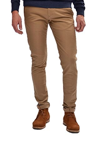 SELECTED -  Pantaloni  - Uomo Marrone 38W x 34L