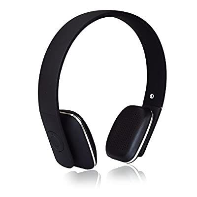 BESTEK® Bluetooth 4.0 Hi-Fi Stereo rechargeable Headphones with 14-hour Streaming Music, 12-hour Talk Time, Hands-free Calling, Built-in MIC, CVC6.0 Echo and Noise Reduction, Supporting A2DP1.2/AVRCP1.4/HSP1.2/HFP1.6 Protocols headset BTBH2