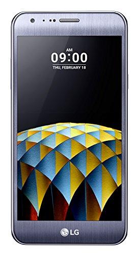 """LG X Cam Smartphone, Display IPS 5.2"""" HD, 4G LTE, Doppia Fotocamera 13MP e 5MP Grandangolare con frontale 8MP, Memoria interna 16 GB, 2 GB RAM, Titanio [Italia]"""