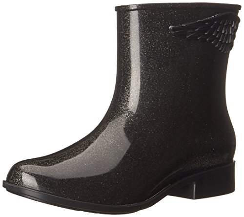 mel Dreamed by melissa Women's Goji Berry II Boot, Black Glitter, 9 B US (Rain Boots Melissa compare prices)