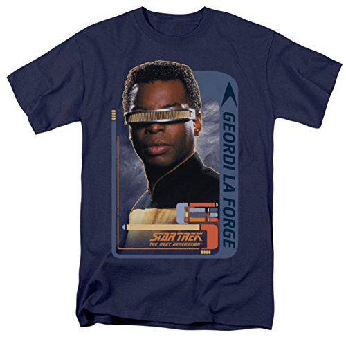 Geordi Laforge Star Trek The Next Generation T-Shirt CBS581
