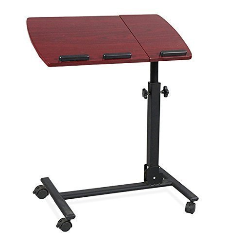 Yahee-Laptoptisch-Laptop-Notebook-Netbook-Tisch-auf-Rollen-verstellbar-59cm-x-345cm