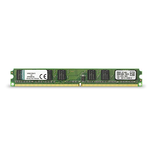 Kingston KVR677D2N5/1G - Memoria RAM de 1 GB (677 MHz DDR2 Non-ECC CL5 DIMM, 240-pin)