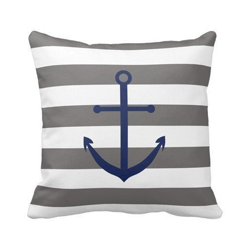 dark-grey-and-navy-blue-anchor-pillow-personalized-18x18-inch-square-cotton-throw-pillow-case-decor-