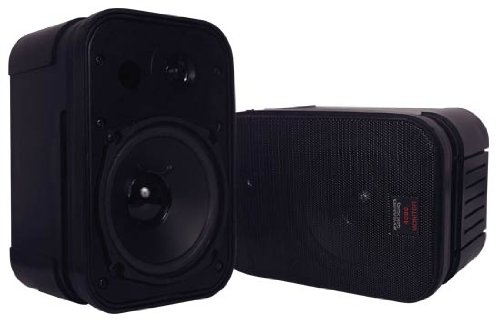 Pyramid 4080 High Performance 400 Watt Book Case Speaker System With Monitor Style Bass Reflex