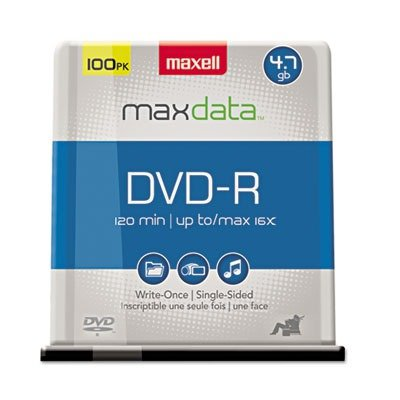 Maxell Dvd-R 16x 100-Pc Spindle