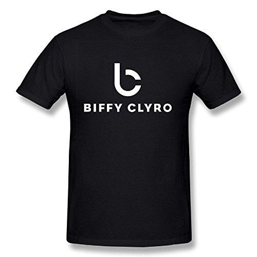 STAYUR Men's Biffy Clyro Band Alternative Rock T-shirt