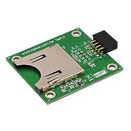 Bplus: U0909A, USB2.0 9 Pin Header to SD Card Reader