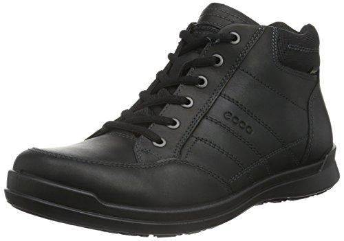 Ecco HOWELL - Sneaker Uomo, Nero (BLACK01001), 42 EU