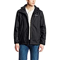 Columbia Men's Watertight II Packable Rain Jacket, Black
