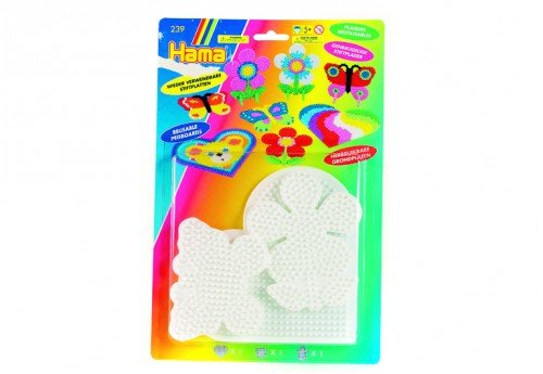 Hama / 3-Piece Set of Small Bead Boards for Fuse Beads, Reptiles