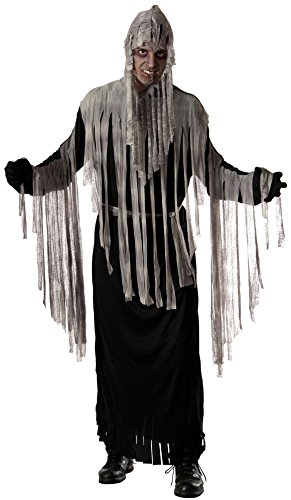 Forum Novelties Men's Haunted Reaper Hooded Robe Costume