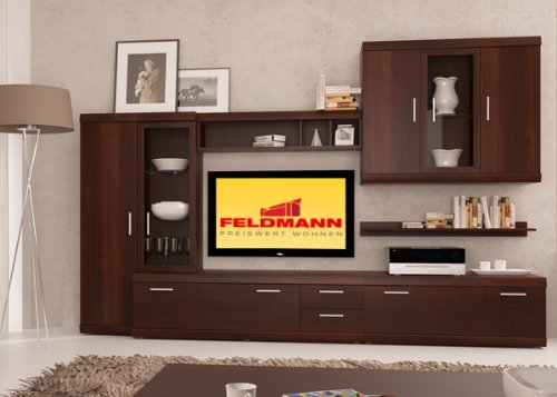 tv lowboard tv element 16775 nussbaum imperial 140 cm m belrado. Black Bedroom Furniture Sets. Home Design Ideas