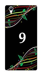 SWAG my CASE PRINTED BACK COVER FOR VIVO Y51L Multicolor